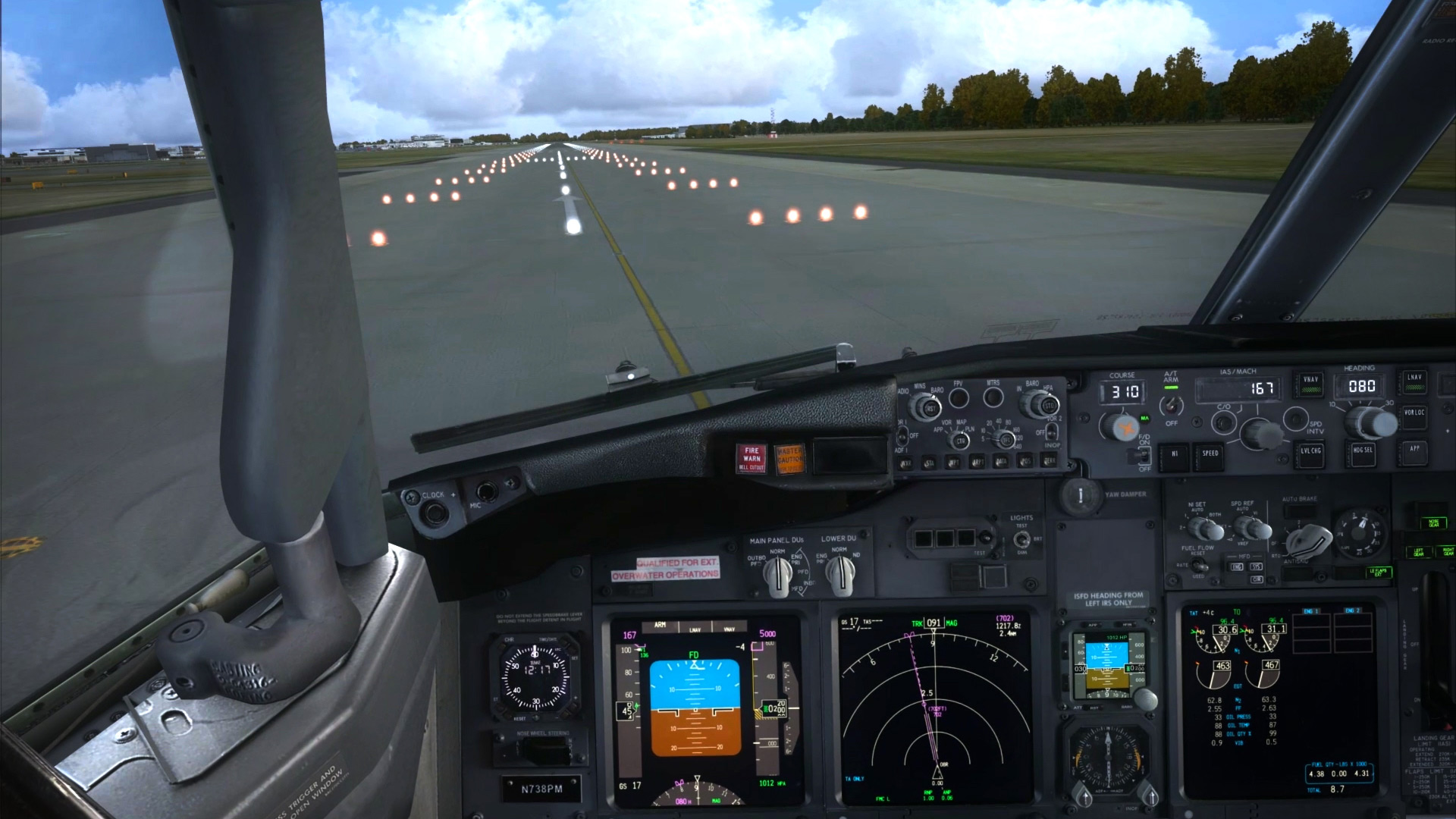 Angle of attack 737 coupon