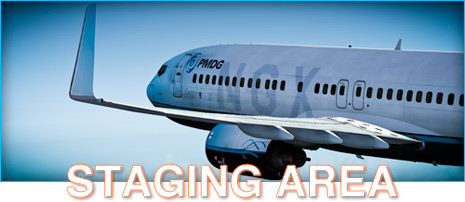 PMDG 737NGX Staging Area - Angle of Attack